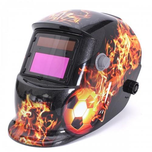 1d7b8e271 Máscara de solda modelo GW 913 Estampada Bola para solda com regulagem de 9  a 13 e Esmerilhamento